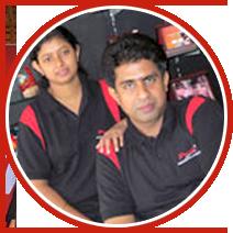 Roby Pidiyath & Santee Pidiyath