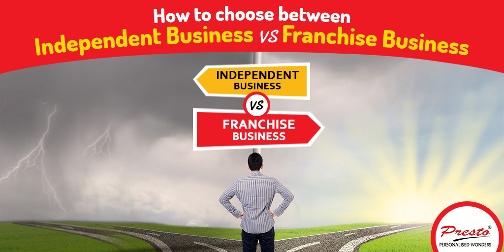 independent business vs franchise business