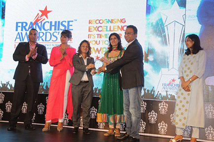Presto being awarded Franchisor of The Year 2015