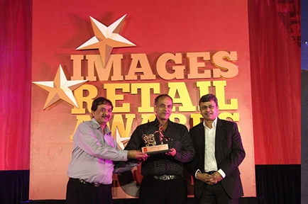 Presto being awarded Most Admired Retailer of The Year 2013